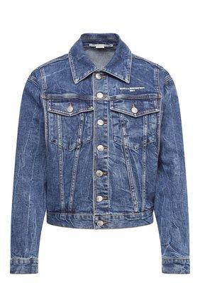 Женская джинсовая куртка STELLA MCCARTNEY синего цвета, арт. 601504/S0H02 | Фото 1