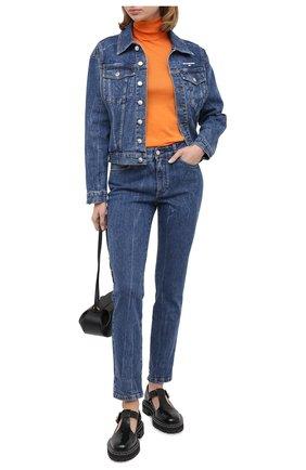 Женская джинсовая куртка STELLA MCCARTNEY синего цвета, арт. 601504/S0H02 | Фото 2