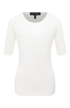 Женский пуловер из вискозы ESCADA белого цвета, арт. 5034036 | Фото 1