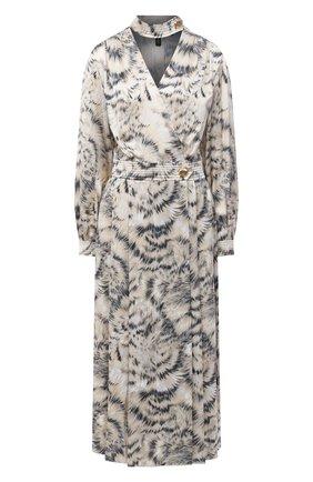 Женское шелковое платье ESCADA разноцветного цвета, арт. 5034439   Фото 1
