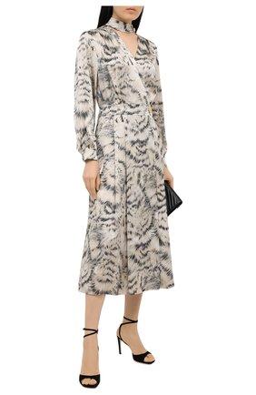 Женское шелковое платье ESCADA разноцветного цвета, арт. 5034439   Фото 2