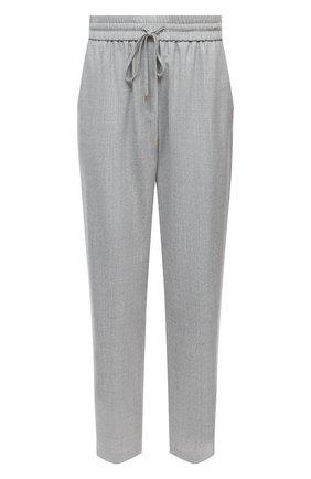 Женские шерстяные брюки ESCADA SPORT светло-серого цвета, арт. 5035034 | Фото 1
