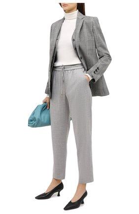 Женские шерстяные брюки ESCADA SPORT светло-серого цвета, арт. 5035034 | Фото 2