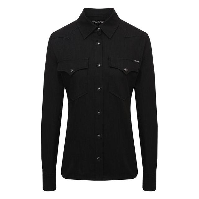 Хлопковая рубашка Tom Ford