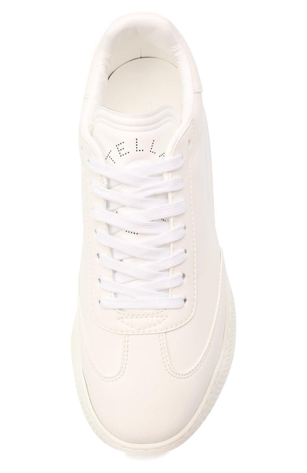 Женские комбинированные кроссовки runner loop STELLA MCCARTNEY белого цвета, арт. 583950/W1TV1 | Фото 5