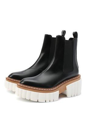 Женские комбинированные ботинки emilie STELLA MCCARTNEY черного цвета, арт. 800251/N0131 | Фото 1