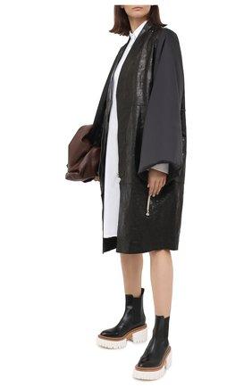 Женские комбинированные ботинки emilie STELLA MCCARTNEY черного цвета, арт. 800251/N0131 | Фото 2