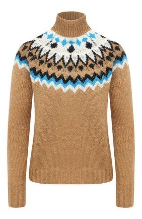 Женский свитер ERMANNO ERMANNO SCERVINO бежевого цвета, арт. 47T MG56 S0F | Фото 1