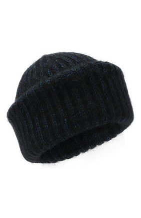 Женская шерстяная шапка TAK.ORI темно-синего цвета, арт. AC124MW060PF17 | Фото 1