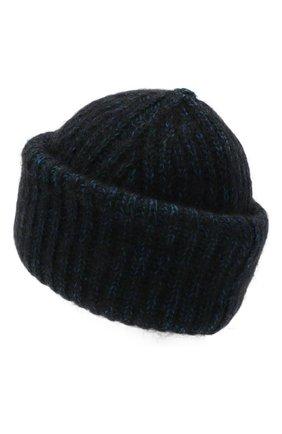 Женская шерстяная шапка TAK.ORI темно-синего цвета, арт. AC124MW060PF17 | Фото 2