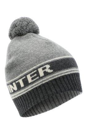 Женский шапка из шерсти и кашемира TAK.ORI серого цвета, арт. HTK72062WC030AW20 | Фото 1