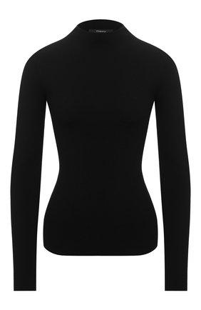 Женская водолазка из вискозы THEORY черного цвета, арт. K0716717   Фото 1
