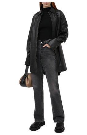 Женская водолазка из вискозы THEORY черного цвета, арт. K0716717   Фото 2