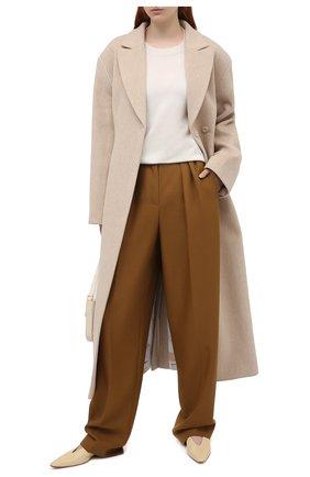 Женский кашемировый пуловер THEORY белого цвета, арт. K0718728 | Фото 2