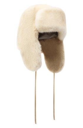Меховая шапка-ушанка Лея | Фото №1