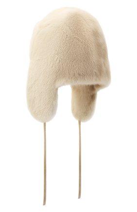 Меховая шапка-ушанка Лея | Фото №2