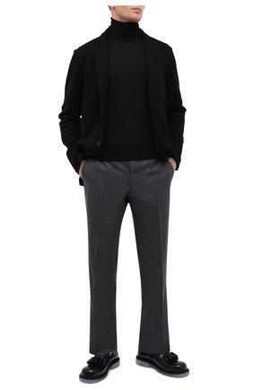 Мужской шерстяной пиджак GRAN SASSO черного цвета, арт. 57156/17112   Фото 2