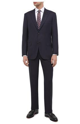 Мужской шерстяной костюм BRIONI темно-синего цвета, арт. RAH20L/09A2W/PLAT0NE | Фото 1