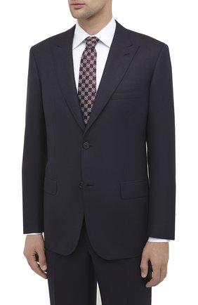 Мужской шерстяной костюм BRIONI темно-синего цвета, арт. RAH20L/09A2W/PLAT0NE | Фото 2
