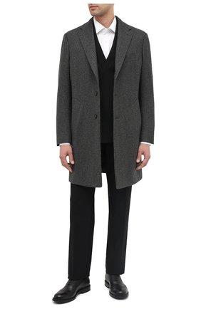 Мужские кожаные оксфорды nixor BALLY черного цвета, арт. NIX0R/110 | Фото 2
