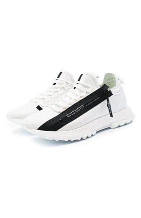 Мужские кожаные кроссовки spectre GIVENCHY белого цвета, арт. BH003MH0NJ | Фото 1