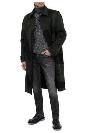 Мужские джинсы 7 FOR ALL MANKIND серого цвета, арт. JSMXR73EPE | Фото 2