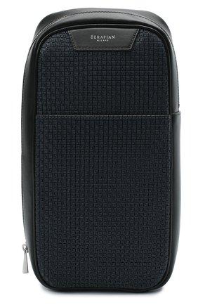 Мужской комбинированный рюкзак stepan SERAPIAN темно-синего цвета, арт. SSTEPMML7131M16A | Фото 1
