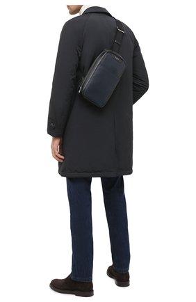 Мужской комбинированный рюкзак stepan SERAPIAN темно-синего цвета, арт. SSTEPMML7131M16A | Фото 2