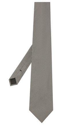 Мужской шелковый галстук TOM FORD серого цвета, арт. 8TF16/XTF | Фото 2 (Материал: Текстиль; Принт: С принтом)