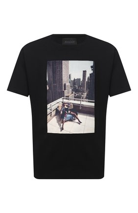 Мужская хлопковая футболка LIMITATO черного цвета, арт. N0 STRINGS/T-SHIRT | Фото 1