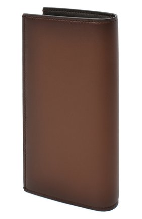 Мужской кожаное портмоне RALPH LAUREN коричневого цвета, арт. 436824093   Фото 2