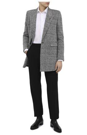 Мужской пальто SAINT LAURENT серого цвета, арт. 626703/Y1B11 | Фото 2