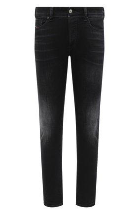 Мужские джинсы DIESEL черного цвета, арт. 00SWJF/0092B | Фото 1