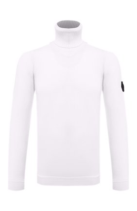 Мужской шерстяной свитер STONE ISLAND SHADOW PROJECT белого цвета, арт. 7319510A5 | Фото 1