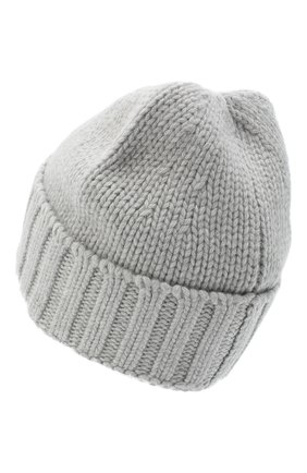 Мужская шерстяная шапка STONE ISLAND светло-серого цвета, арт. 7315N17D6 | Фото 2