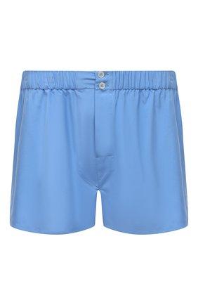 Мужские шелковые боксеры BRIONI синего цвета, арт. N1B10L/0943G | Фото 1