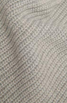 Мужской шерстяной шарф STONE ISLAND светло-серого цвета, арт. 7315N15B5 | Фото 2