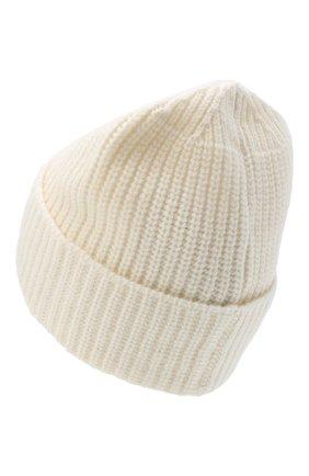 Мужская шерстяная шапка STONE ISLAND белого цвета, арт. 7315N10B5 | Фото 2