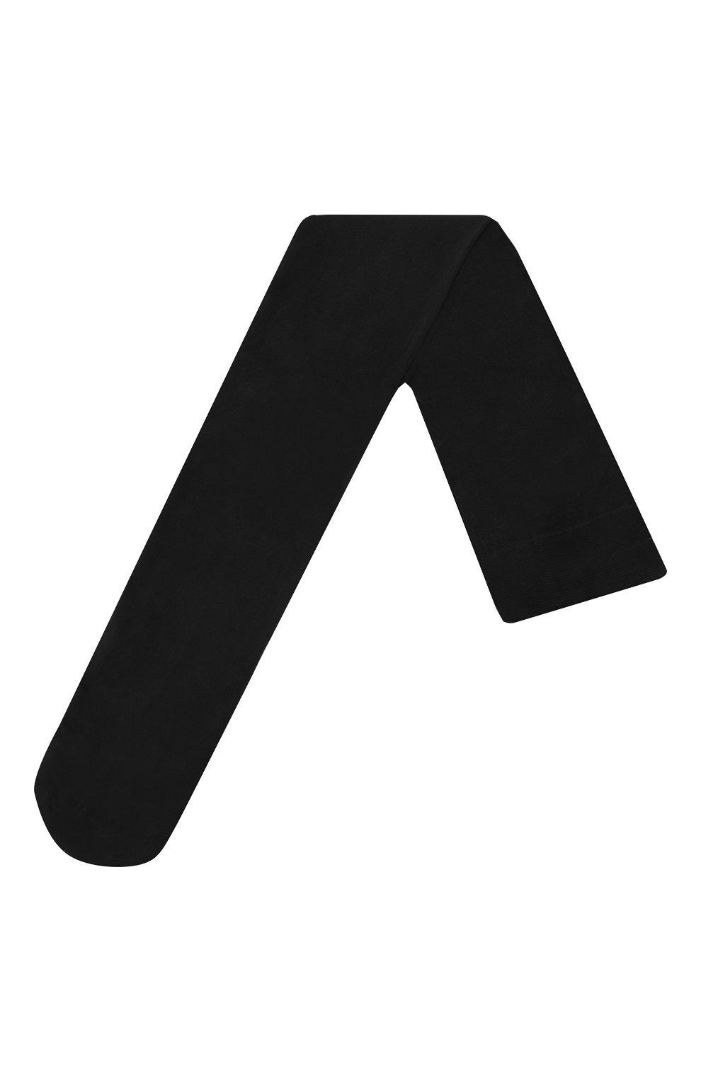 Детские колготки LA PERLA черного цвета, арт. 46105/7-8   Фото 1 (Материал: Текстиль)