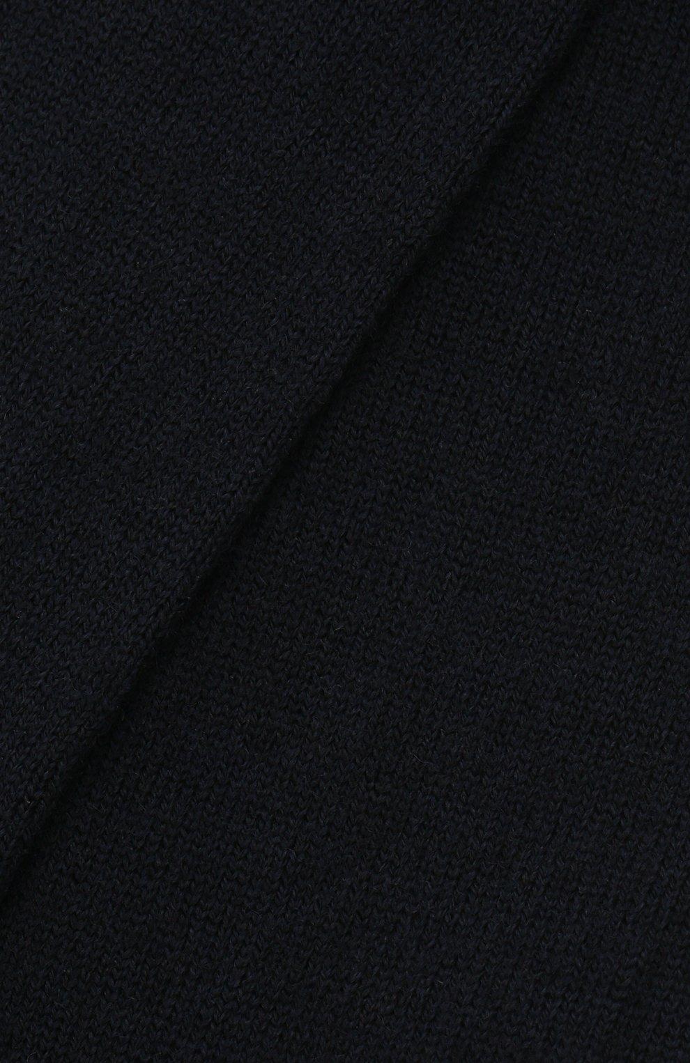 Детские шерстяные колготки LA PERLA синего цвета, арт. 47118/1-3 | Фото 2 (Материал: Шерсть)