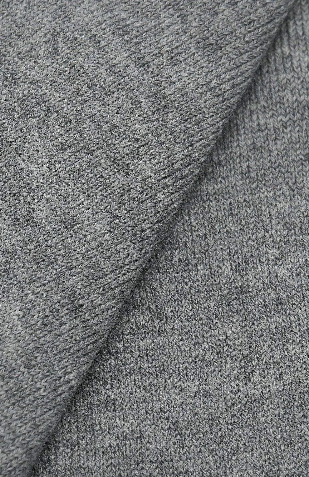 Детские шерстяные колготки LA PERLA серого цвета, арт. 47118/7-8   Фото 2 (Материал: Шерсть)