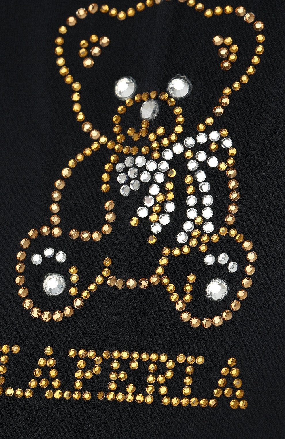 Детские колготки LA PERLA синего цвета, арт. 47340/1-3 | Фото 2 (Материал: Текстиль)