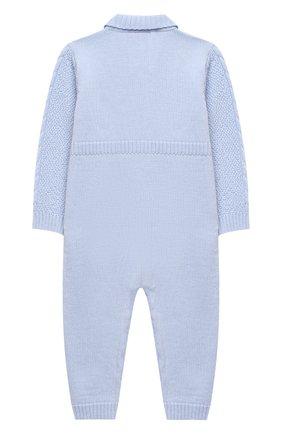 Детский шерстяной комбинезон BABY T голубого цвета, арт. 20AI031TZ/18M-3A | Фото 2
