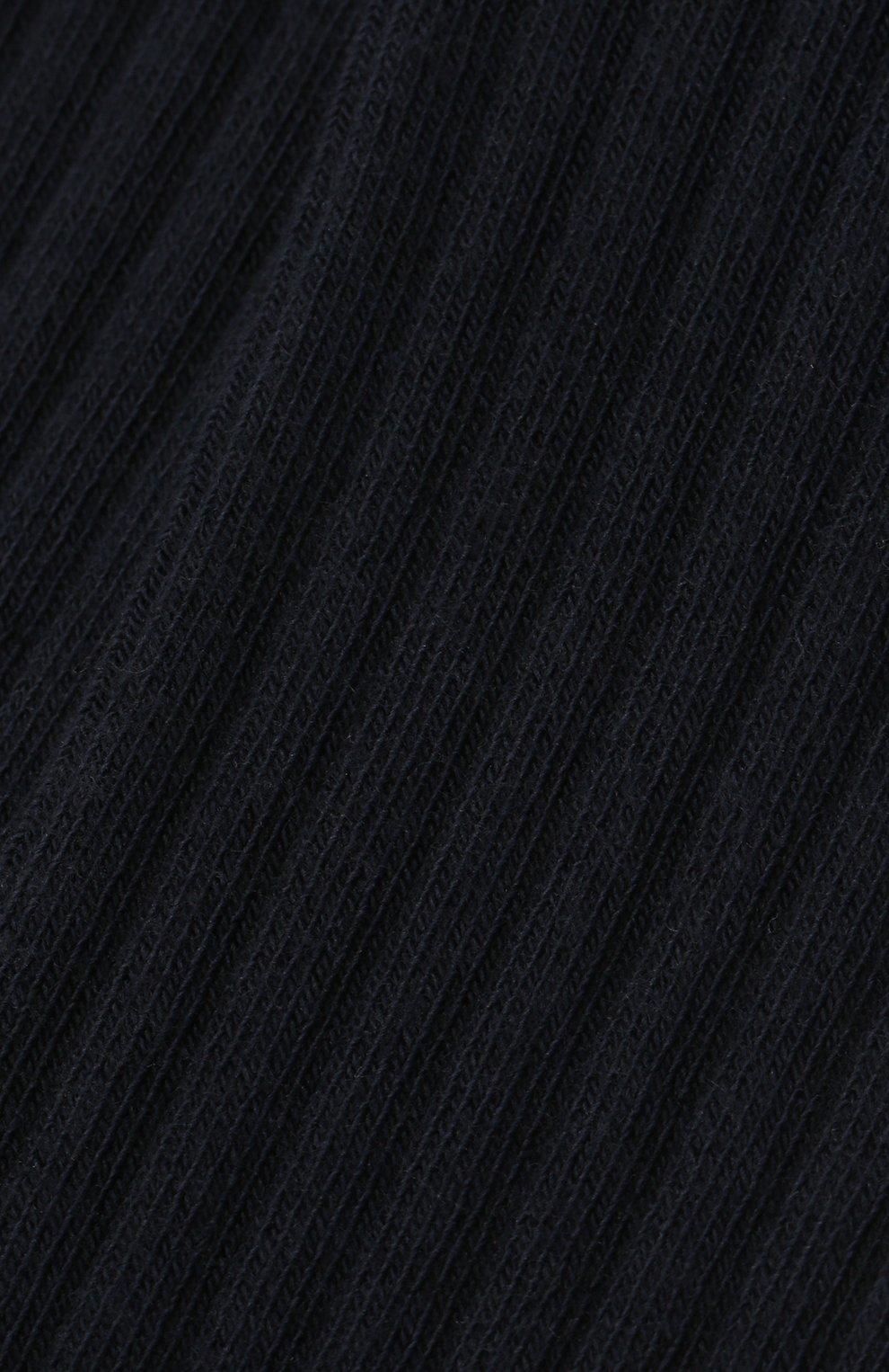 Детские колготки FALKE темно-синего цвета, арт. 13642. | Фото 2 (Материал: Текстиль, Хлопок)