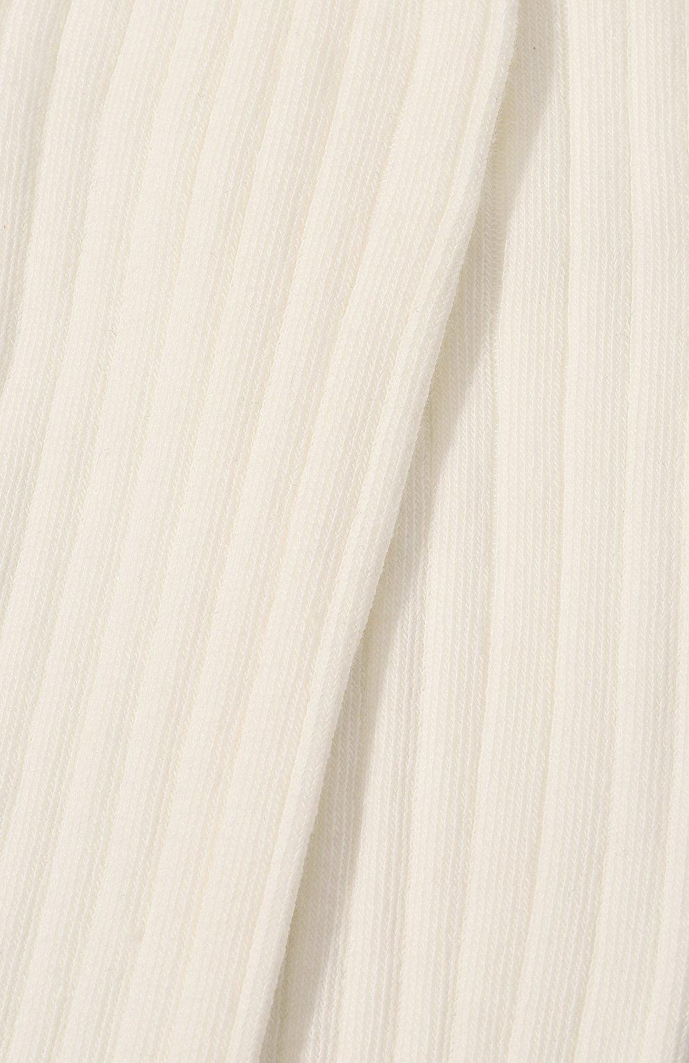 Детские колготки FALKE белого цвета, арт. 13642.   Фото 2 (Материал: Текстиль, Хлопок)