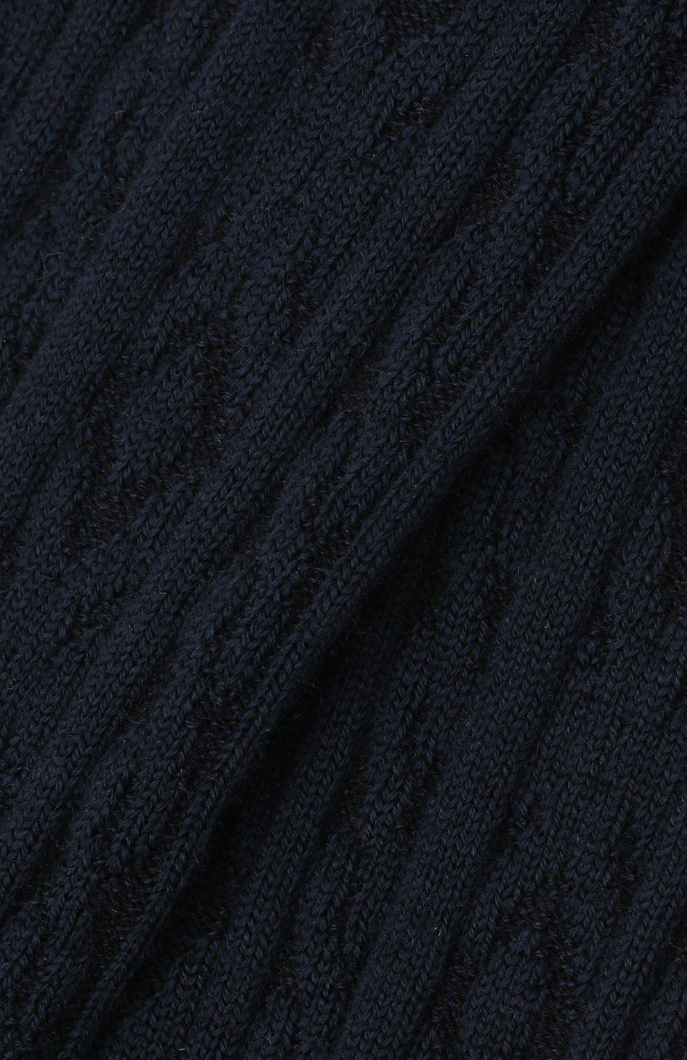 Детские колготки FALKE темно-синего цвета, арт. 13520.   Фото 2 (Материал: Шерсть)
