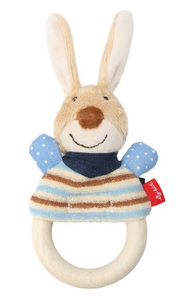 Детского игрушка-хваталка кролик SIGIKID бежевого цвета, арт. 39269   Фото 1