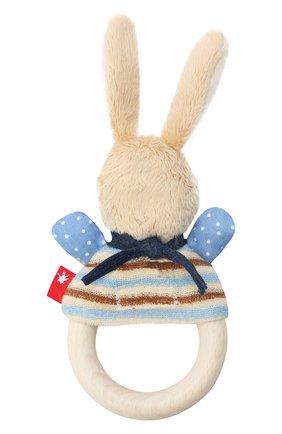 Детского игрушка-хваталка кролик SIGIKID бежевого цвета, арт. 39269   Фото 2