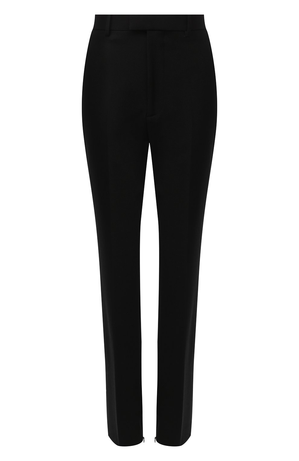 Женские брюки BOTTEGA VENETA черного цвета, арт. 636529/V02W0 | Фото 1