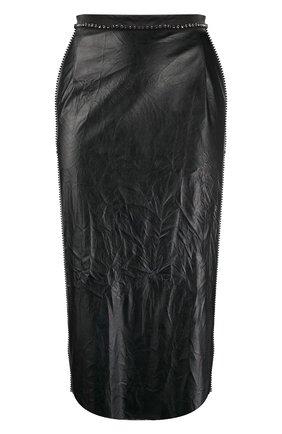 Женская юбка N21 черного цвета, арт. 20I N2M0/C011/2821 | Фото 1